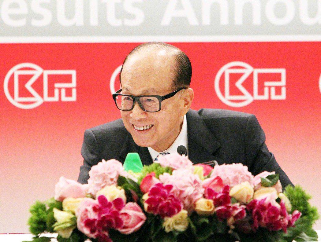 李嘉誠重奪香港首富。(中通社)