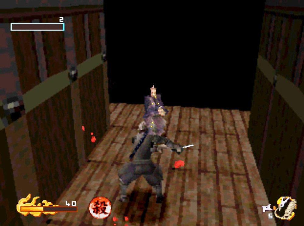 遊戲中通常只要能在敵人沒發覺狀態下,幾乎都可以將敵人一擊殺,萬一被發現演變正面衝...