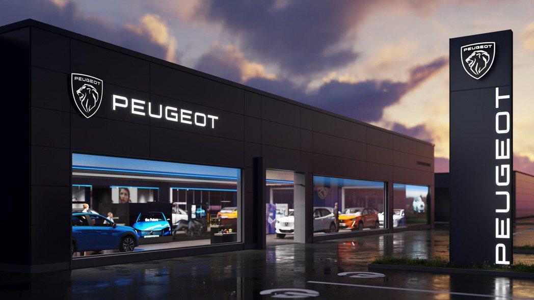 Peugeot全新廠徽。 摘自Peugeot