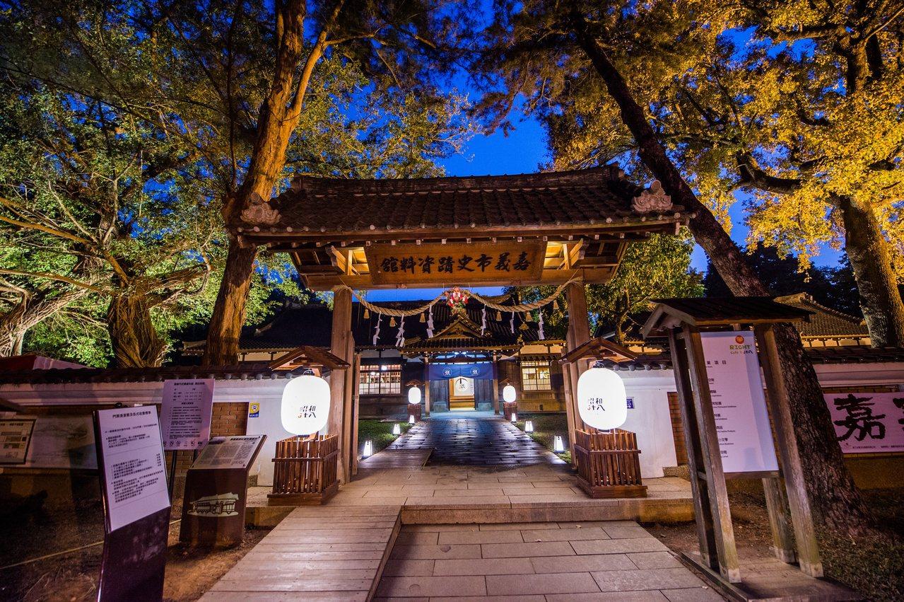 史蹟資料館有著典雅的日式建築。 圖/市府提供
