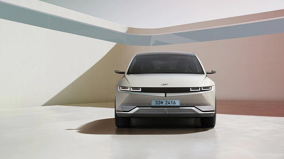 全新Hyundai IONIQ 5。 摘自Hyundai
