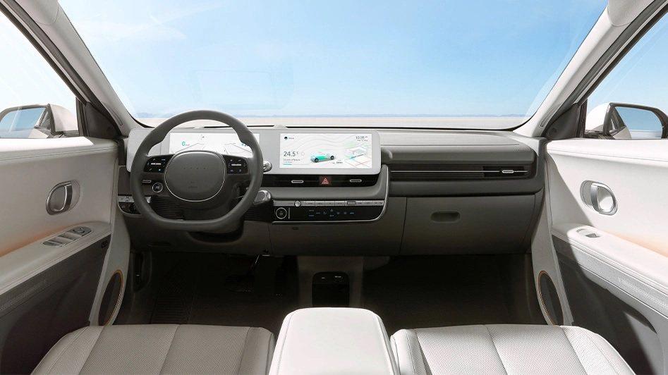 全新Hyundai IONIQ 5車室。 摘自Hyundai