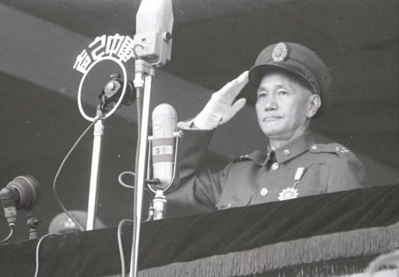 前總統蔣中正。圖/本報系資料照