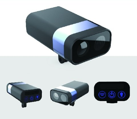 正能光電新產品Bat Eye G1+。正能光電/提供