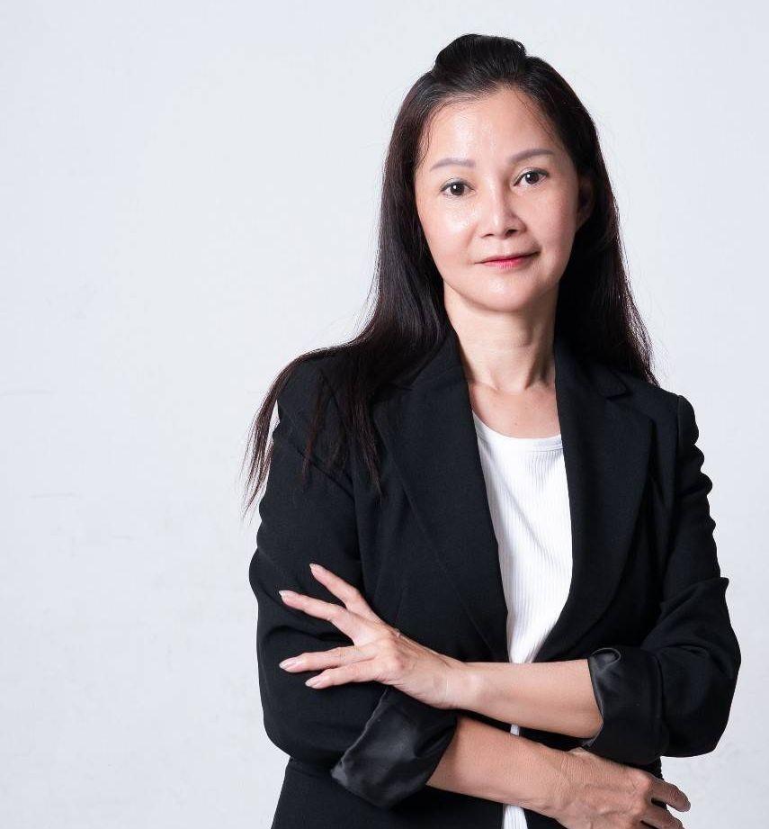 中華民國指甲彩繪美容職業工會聯合會理事長紀皖珍。 業者/提供