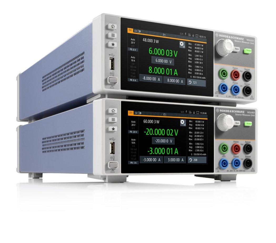 R&S NGU進軍電源量測設備(SMU)市場。 R&S/提供