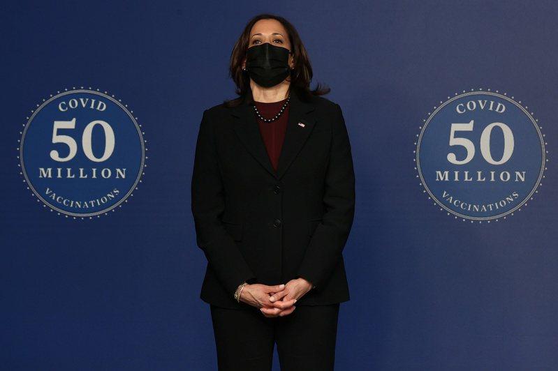 美國副總統賀錦麗。 路透社