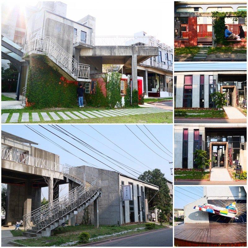 從竹東火車站旁的入口進來,即進入竹東文創園區,幾間特色的懷舊建築,非常有特色,竹東必遊的熱門景點。