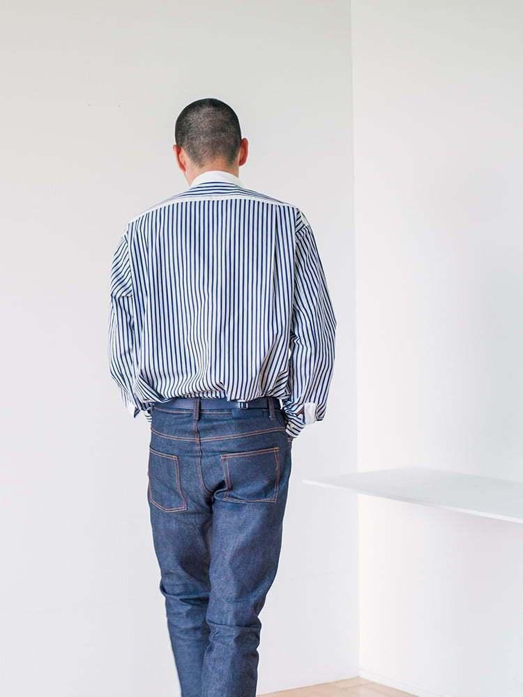 UNIQLO +J春夏系列SUPIMA棉寬版立領襯衫1,290元、赤耳Slim ...