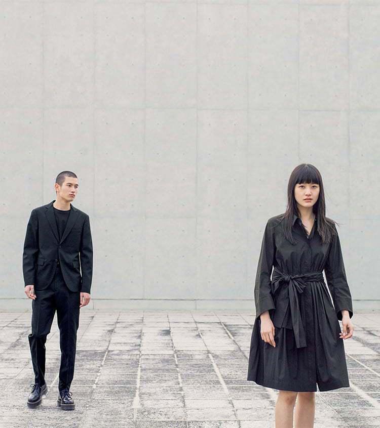 UNIQLO +J春夏系列男裝羊毛西裝外套6,990元、合身長褲3,990元、S...