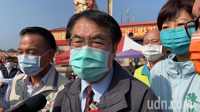 台南市接連發生黑道凶殺案,讓台灣文化首都變成現實「高譚市」,台南市警察局以及市長黃偉哲(圖)須負起最直接的責任。圖/聯合報系資料照片