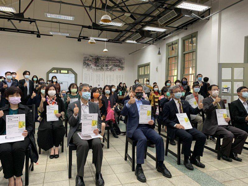 台師大今發表「台灣文化的記憶與轉譯」聯合計畫成果。記者趙宥寧/攝影