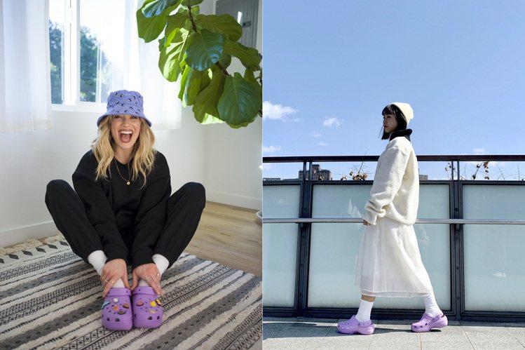 Crocs推出新款Platform厚底經典克駱格鞋,以經典克駱格結合窄版楦頭設計...