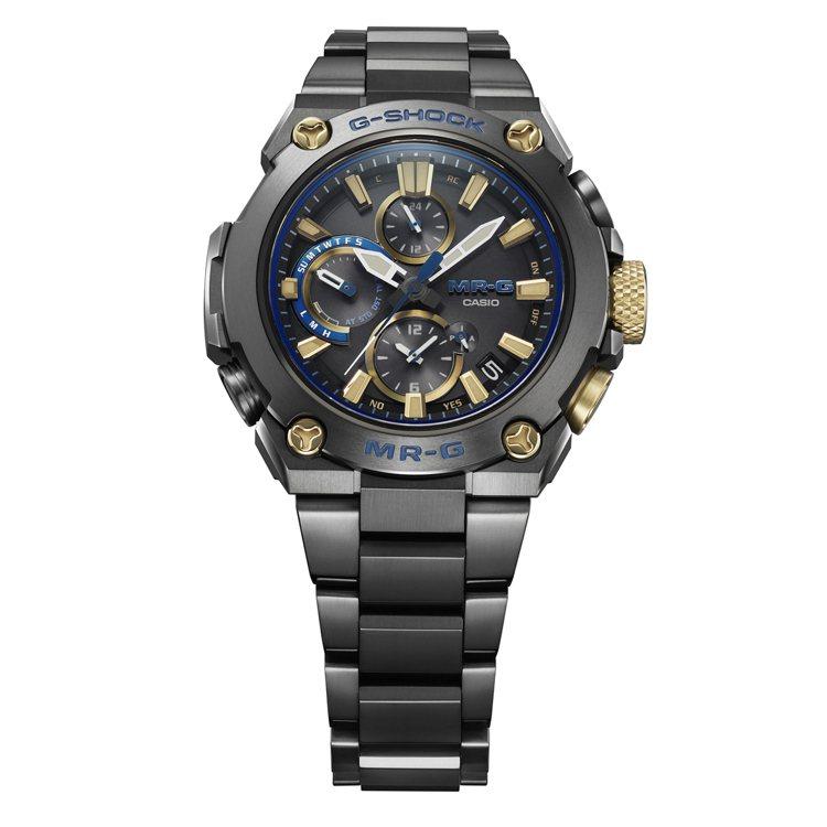 G-SHOCK MRG-B1000BA-1A腕表,鍍黑鈦金屬表殼、表鍊75,00...