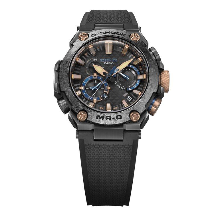 G-SHOCK MRG-B2000R-1A腕表,鍍黑鈦金屬表殼86,000元。圖...