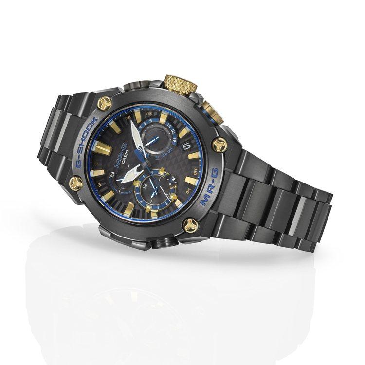 G-SHOCK MRG-B2000B-1A腕表,鍍黑鈦金屬表殼、表鍊86,000...