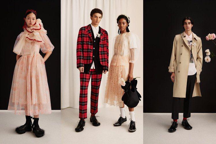 H&M今年與設計師Simone Rocha聯名系列,將於3月11日開賣。圖/H&...