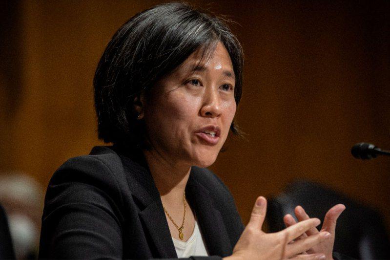 準美國貿易代表戴琪25日出席提名聽證會。歐新社