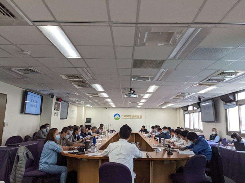 環評專案小組於今(26)日針對竹科寶山二期擴建計畫召開第二次審查會議。記者程士華/攝影