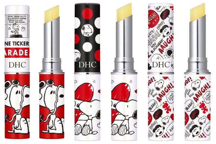 DHC純欖護唇膏-史努比限定版/單支350元。圖/DHC提供