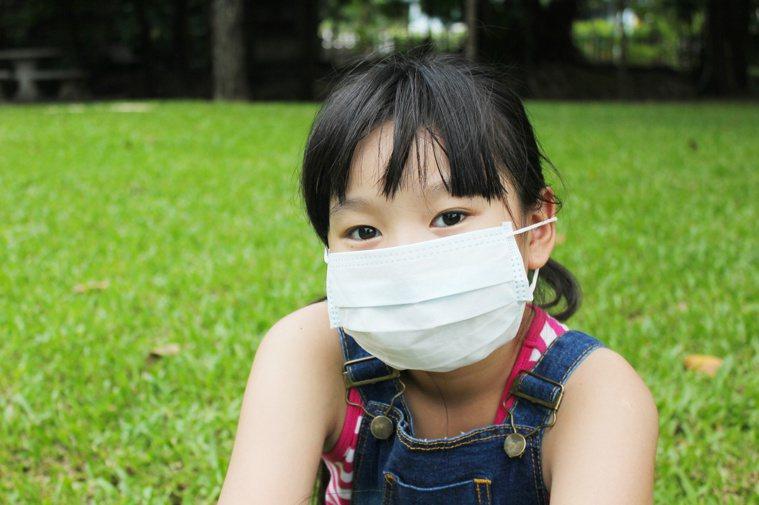 去年氣喘診斷人數下降,應與良好衛生習慣有關。圖/123RF