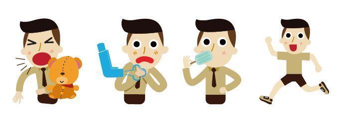醫師指出,家長只要花點心思,從旁指導,氣喘兒也能有健康快樂的童年。圖/123RF