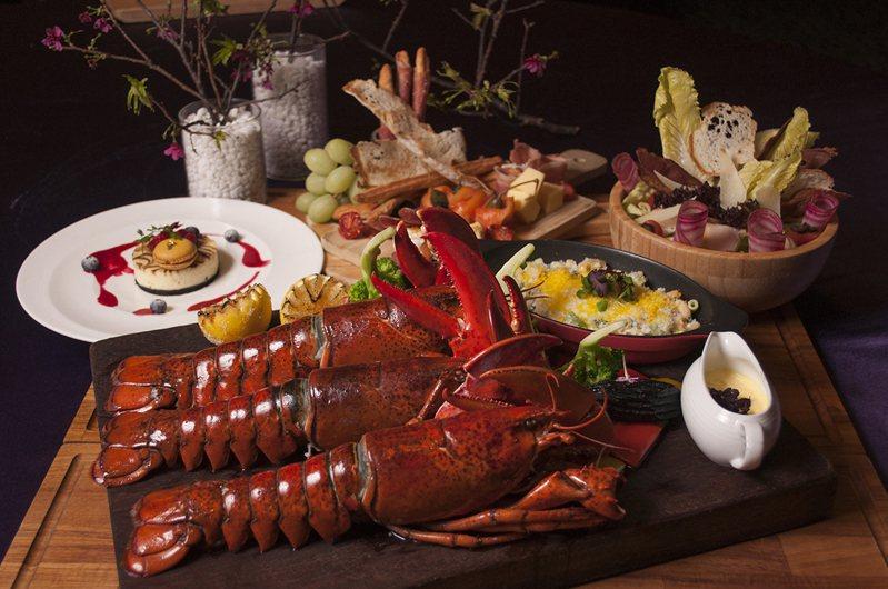 美麗信花園酒店誠意送上波士頓龍蝦套餐。圖/美麗信花園酒店提供