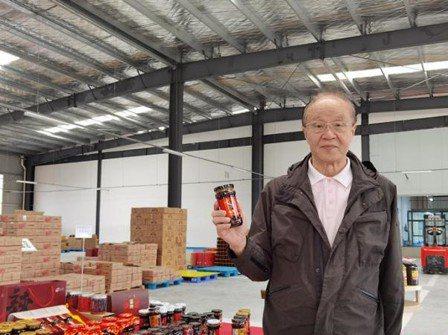 貴州高原山鄉有機食品董事長梁先燦。(中新社)
