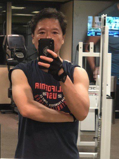 阮慕驊做重訓後不但變瘦,更年期的症狀也不藥而癒。圖/阮慕驊提供