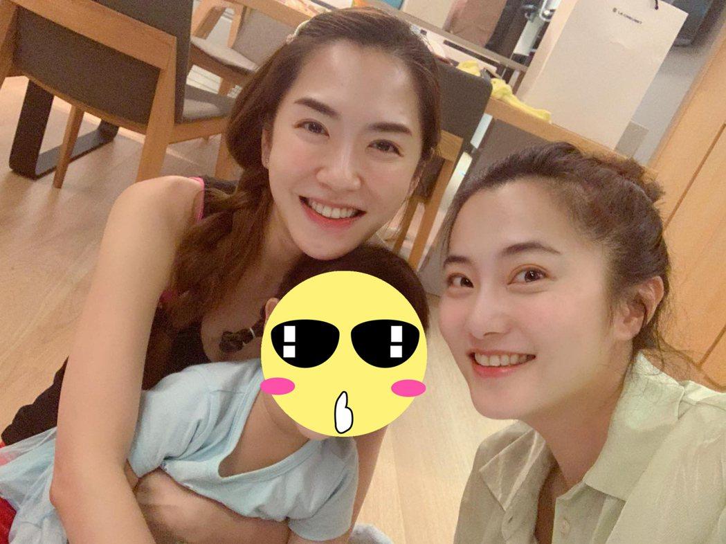 楊千霈與趙小僑是好友。圖/擷自臉書