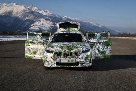 車長超過四米、五種動力可選 大改款ŠKODA Fabia發表前搶先看!
