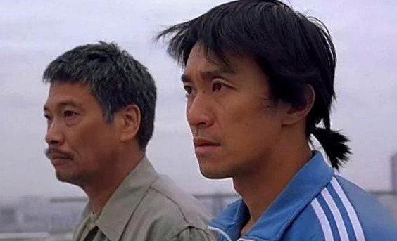 周星馳(右)與吳孟達(左)曾攜手創下不少佳績。圖/取自微博