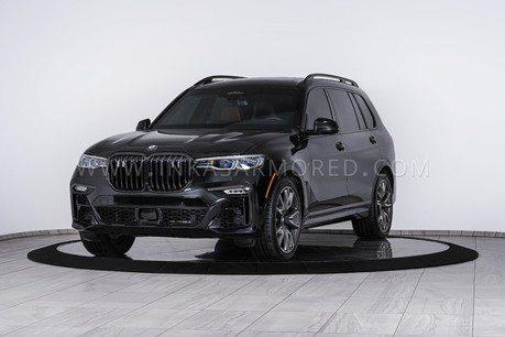 影/最強大鼻孔 世界首發BMW X7重裝防彈車終於亮相!