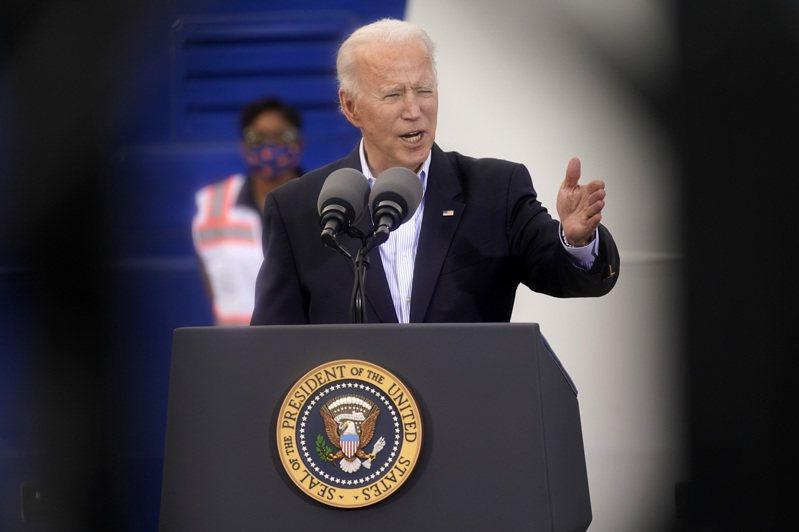美国总统拜登。 美联社(photo:UDN)