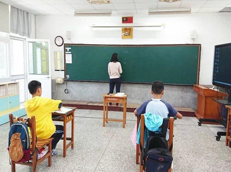 因為少子化,台東縣偏鄉小班小校越來越多。本報資料照片
