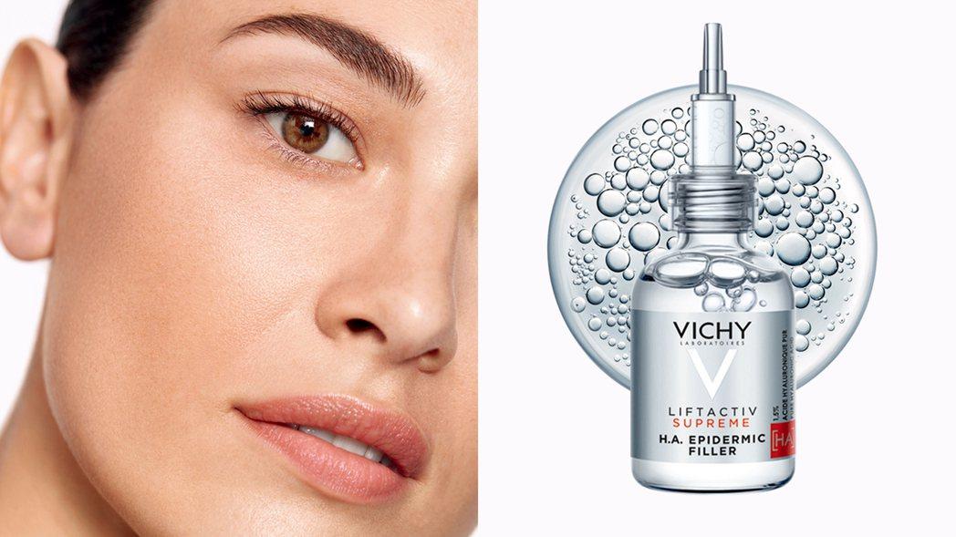 「薇姿HA超導撫紋安瓶精華」又暱稱為「小銀管」,主要針對臉部肌膚的紋路問題進行改...