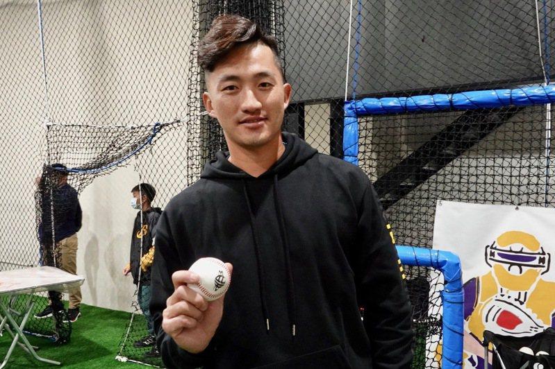 合作金庫隊王牌投手吳昇峰。記者蘇志畬/攝影