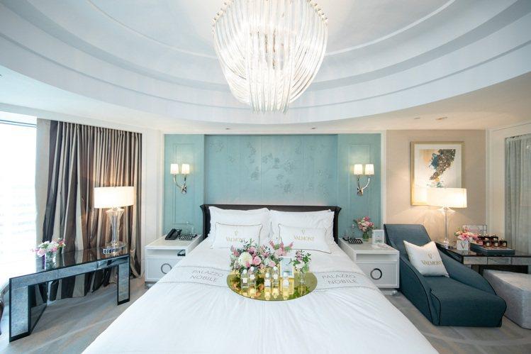 VALMONT法曼兒將與台北文華東方酒店,推出聯名套房。圖/VALMONT法兒曼...
