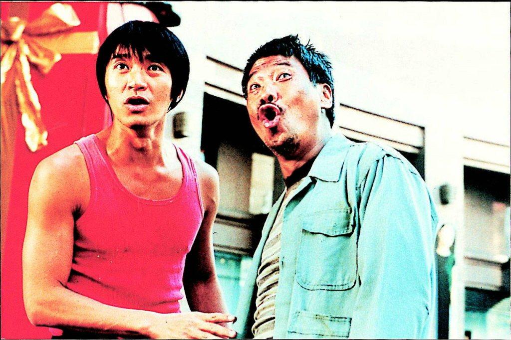 周星馳(左)與吳孟達在「少林足球」後就未再合作。圖/報系資料照片
