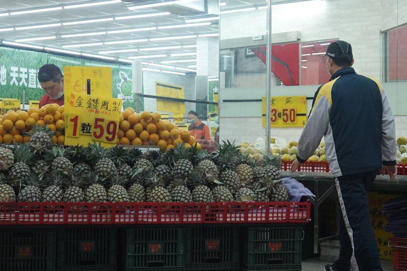 大陸暫停台灣鳳梨進口,農委會將拿10億元預算,穩定鳳梨內外銷。圖/聯合報系資料照片