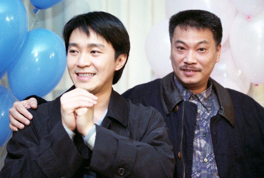 周星馳(左)與吳孟達曾攜手創下不少佳績。圖/報系資料照片