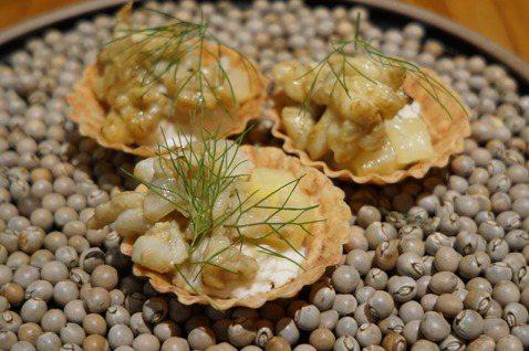 Icifa主廚鄭吉棠以法式料理手法,重新詮釋在地食材的風味。圖/于國華提供