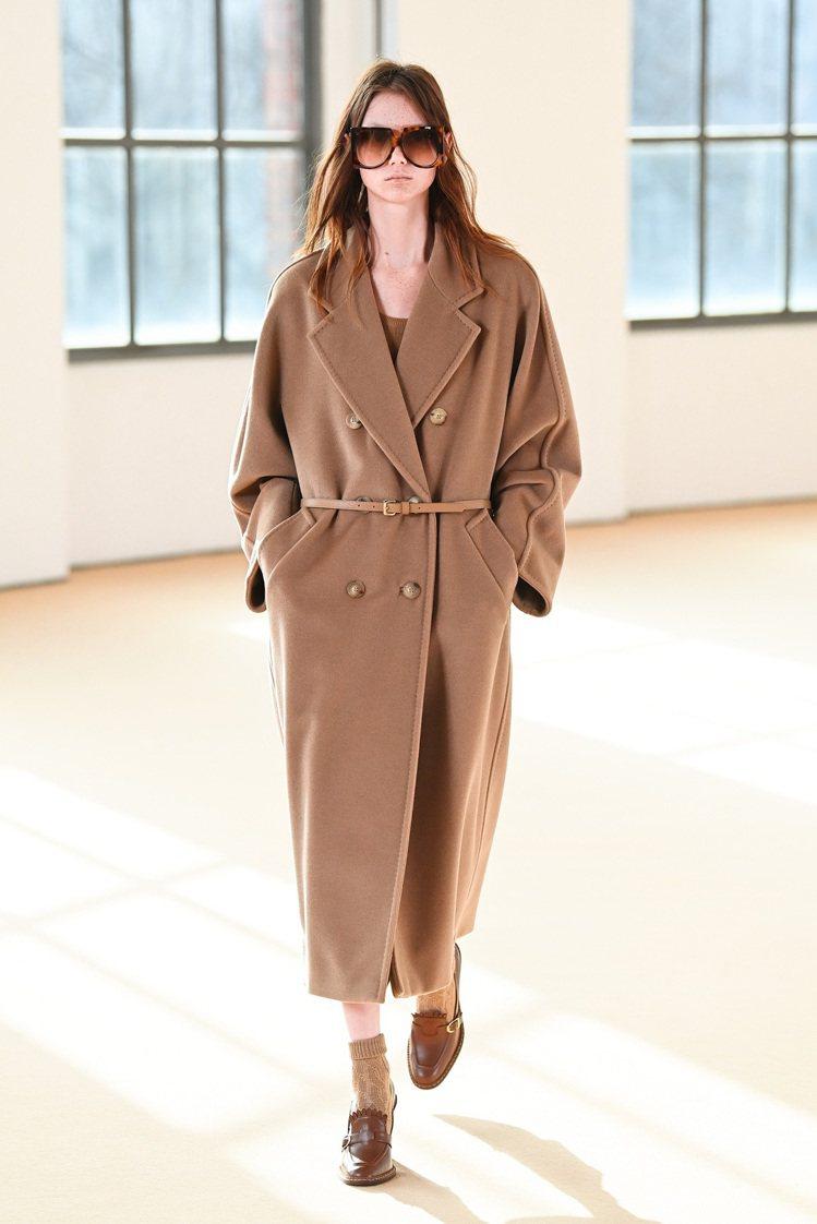 Max Mara大衣是跨世代的經典代表作。圖/Max Mara提供