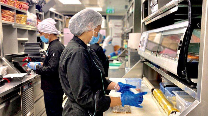 亚洲的云端厨房潮流在疫情促使餐饮外送服务大行其道后,开始爆发。(photo:UDN)