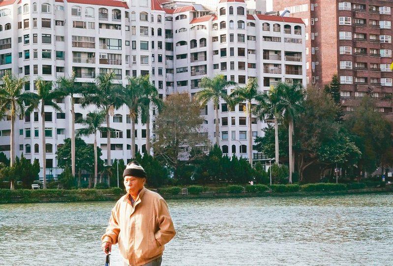 台灣進入高齡化社會,老年人口占比愈來愈多。示意圖。本報資料照片