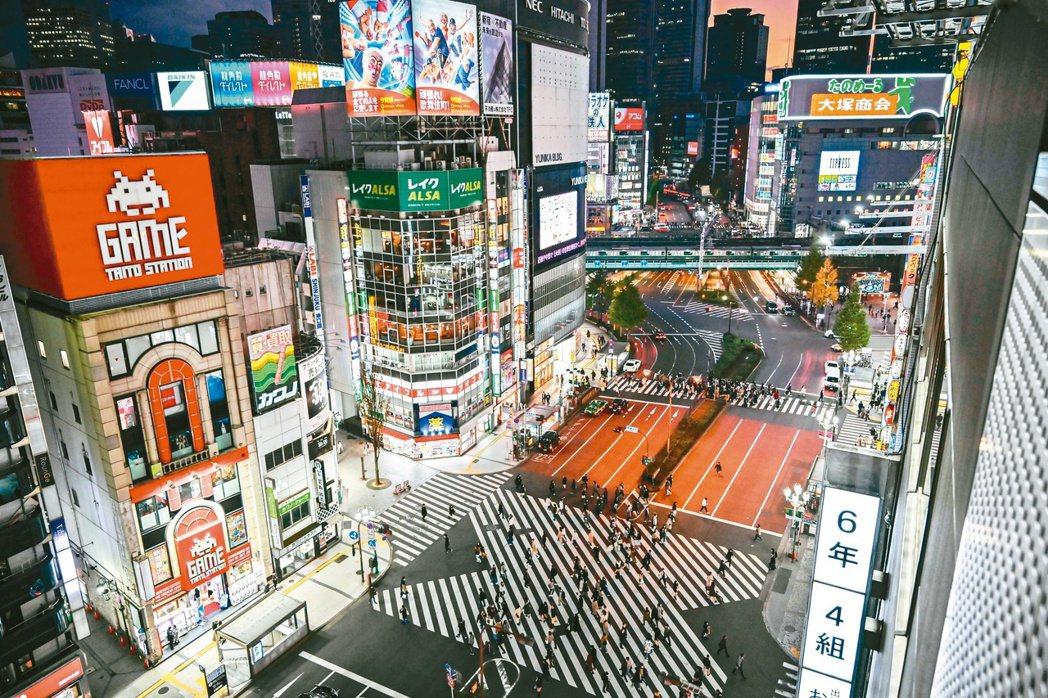 東京港區房市具商業發展功能與舒適環境,吸引國際投資客目光。(法新社)