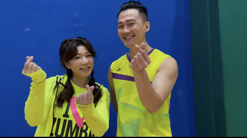 趙詠華(左)、林俊逸為演出儲備體力。圖/遠雄創藝事業股份有限公司提供