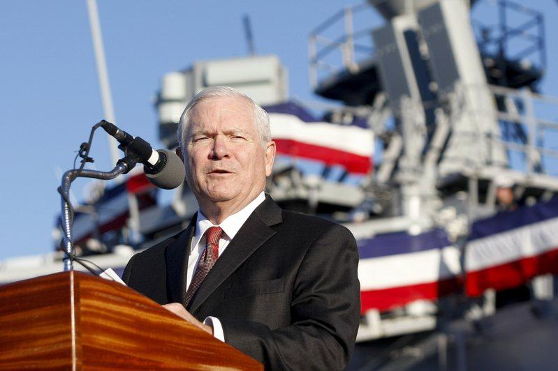 美國前國防部長蓋茲。美聯社