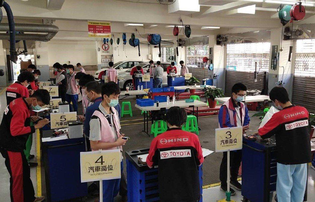 新北市國中技藝競賽活動。 圖/和泰汽車提供