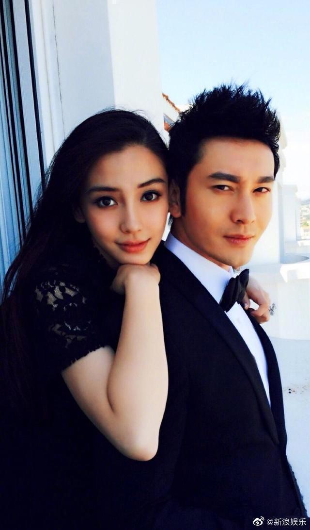 黃曉明與Angelababy近來屢被傳婚變、離婚。 圖/擷自微博